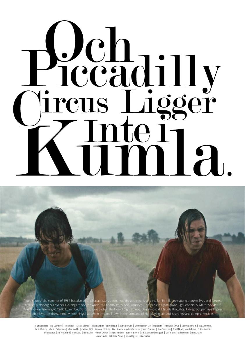 Movie poster, Mockup
